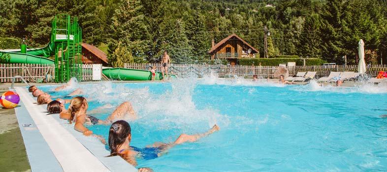 Camping Avec Piscine Dans Les Vosges Piscine Couverte Et Chauffee